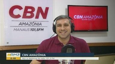Confira os destaques da CBN Amazônia para esta terça-feira (17) - Confira os destaques da CBN Amazônia para esta terça-feira (17).