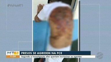 Presos feridos dentro da PCE - Presos feridos dentro da PCE