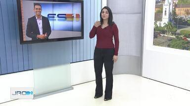 Ana Lídia Daibes e Philipe Lemos falam sobre participação no JN - Dupla apresentará JN neste sábado, 21.