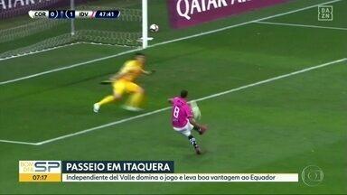 Corinthians perde em casa na Sul-Americana e se complica - Também teve skate no BDSP: dois eventos mundiais na mesma semana aqui em São Paulo