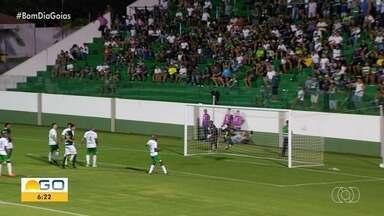 No sufoco, Goiás vence o Cuiabá pela Copa Verde - Barcia fez o único gol do jogo.