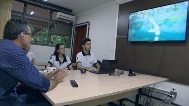 Fisioterapia por meio de videogame para pacientes que tiveram AVC - No triangulo mineiro, estudantes e pesquisadores da Universidade Federal de Uberlândia, criaram uma forma divertida de cuidar da saúde: um videogame pra se jogar enquanto se faz fisioterapia.