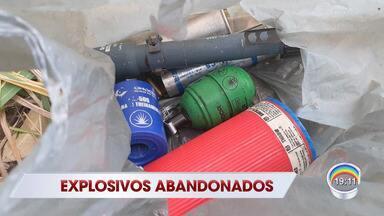 Suspeita de explosivo perto do CDP do Putim mobiliza polícia em São José - Policiais militares isolam o local enquanto aguardam a chegada do Grupo de Ações Táticas Especiais (Gate).