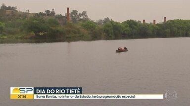Dia do Rio Tietê - Barra Bonita, onde está o trecho navegável e despoluído do rio terá uma programação especial.