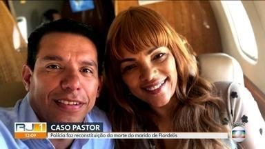 Reconstituição da morte do marido de Flordelis será realizada neste sábado (21) - Neste sábado (21), a polícia vai fazer a reconstituição da morte do pastor Anderson do Carmo, marido da deputada Flordelis, assassinado em junho, em Niterói.