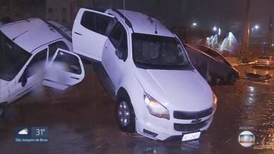 Defesa Civil faz simulação de fechamento da Av. Vilarinho em caso de chuva forte em BH - Treinamento está marcado para as 8h. Vias serão fechadas durante o simulado.