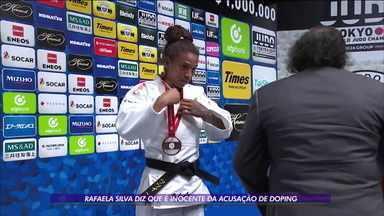 Rafaela Silva se justifica da acusação de doping - Rafaela Silva se justifica da acusação de doping
