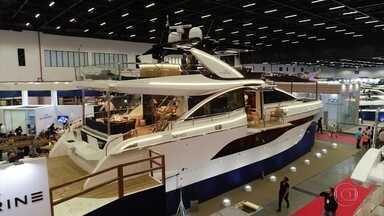 Veja lançamentos mundiais do São Paulo Boat Show 2019 - Evento traz novidades do setor náutico ao Brasil.