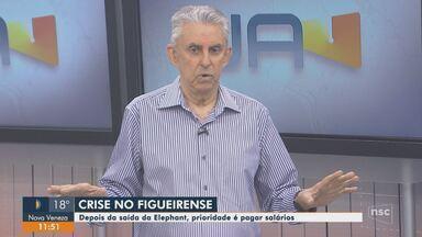 Roberto Alves analisa situação do Figueirense - Roberto Alves analisa situação do Figueirense