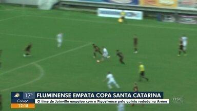 Fluminense empata com o Figueirense - Fluminense empata com o Figueirense