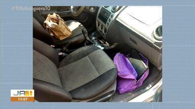 Criminosos invadem casa enquanto vítima saia com carro de garagem na 806 Sul - Criminosos invadem casa enquanto vítima saia com carro de garagem na 806 Sul