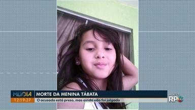 Caso da menina Tábata completa dois anos - A garota foi violentada e morta em setembro de 2017, em Umuarama, o suspeito do crime foi preso e aguarda julgamento.