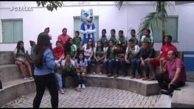 """Paysandu recebe """"reforços"""" especiais na semana do Re-Pa - Paysandu recebe """"reforços"""" especiais na semana do Re-Pa"""