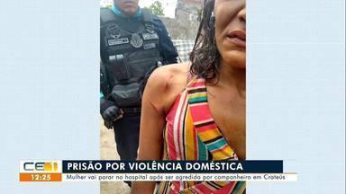 Polícia investiga morte de idosa em Jucás; prisão por violência doméstica em Crateús - Saiba mais no g1.com.br/ce