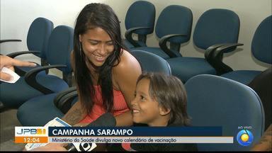 Paraíba terá campanha contra o sarampo - Estado tem 5 casos confirmados.
