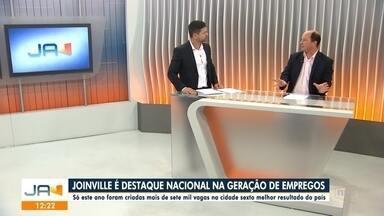 Joinville é destaque na geração de empregos - Joinville é destaque na geração de empregos