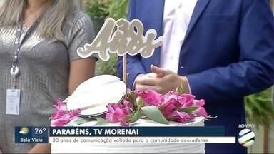 TV Morena completa 30 anos em Dourados - Diretoria da RMC destaca a parceria da TV com a comunidade.