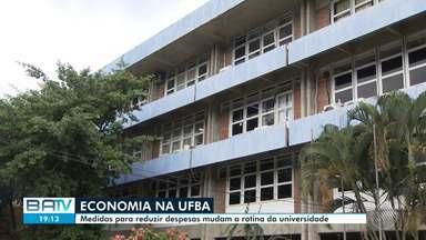UFBA adota medidas para reduzir despesas após bloqueio de verba pelo Governo Federal - Instituição teve bloqueio de 30% do orçamento e diz que, em 2019, deixou de receber R$ 54 milhões.