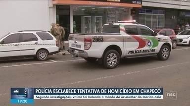 Polícia esclarece caso de tentativa de homicídio em Chapecó - Polícia esclarece caso de tentativa de homicídio em Chapecó