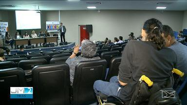 Audiência discute desafios da mobilidade urbana em São Luís - Um dos grandes problemas é a quantidade de obstáculos nas calçadas.