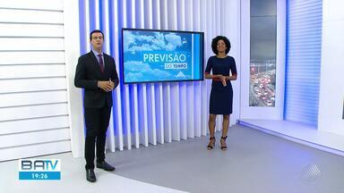 Confira a previsão do tempo para Salvador e interior do estado - Sol deve aparecer em Salvador na sexta-feira (27), mas também há risco de chuva fraca.