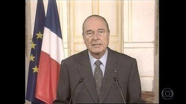 Morreu, aos 86 anos, o ex-presidente francês Jacques Chirac - Ele sofria de uma doença degenerativa e estava afastado da política há 12 anos