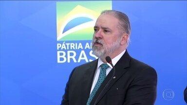Augusto Aras toma posse como procurador-geral da República - O novo procurador-geral da República, Augusto Aras, destacou a importância da independência do Ministério Público.