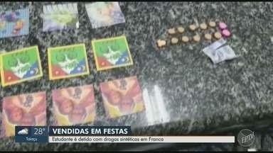 Estudante é detido com 724 comprimidos de LSD em Franca, SP - Suspeito confessou que vendia drogas sintéticas em festas.