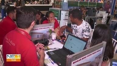 Festival oferece cinco mil imóveis em feirões no Grande Recife - Evento ocorre em vários shoppings e é oportunidade de sair do aluguel.