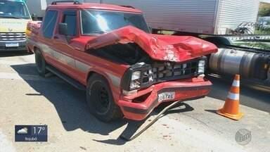 Um homem morreu e outro ficou ferido em acidente na BR-459 em Pouso Alegre (MG) - Um homem morreu e outro ficou ferido em acidente na BR-459 em Pouso Alegre (MG)