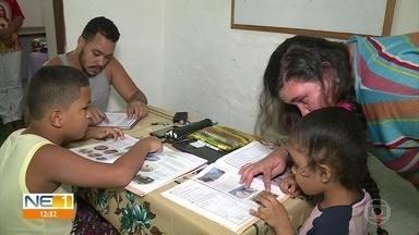 Espaço religioso oferece serviços sociais em Águas Compridas, em Olinda - Centro Social da Tenda de Umbanda e Caridade Caboclo Flecheiro D'Ararobá promove rituais religiosos e também ações de solidariedade.