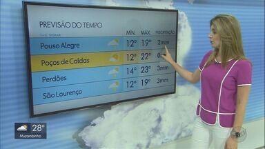 Confira a previsão do tempo para este sábado (28) - Confira a previsão do tempo para este sábado (28)