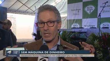 Governado Romeu Zema fala da crise financeira do Estado de Minas Gerais (MG) - Governado Romeu Zema fala da crise financeira do Estado de Minas Gerais (MG)