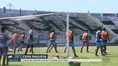 Comercial-SP enfrenta o Linense pela 3ª fase da Copa Paulista - Técnico do Bafo depende do departamento médico para escalar os jogadores.