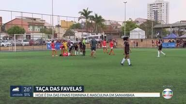 Finais da Taça das Favelas - Campo sintético de Samambaia recebe neste sábado (28) as finais feminina e masculina de futebol da Taça das Favelas.