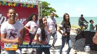 Festa gratuita 'Vem Dançar, Olinda' oferece diversidade de ritmos para todas as idades - Festa ocorre no domingo (29), no Fortim do Queijo.