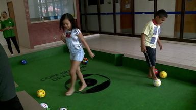 Copa Brasília de Futsal traz atividades para as crianças - Copa Brasília de Futsal traz atividades para as crianças
