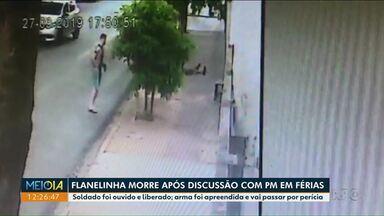 PM atira e mata em flanelinha em Londrina - Tiros foram dados após discussão no centro da cidade.
