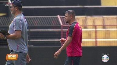 Sport se prepara para encarar o Operário, pela Série B - Sport se prepara para encarar o Operário, pela Série B