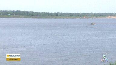 Período de estiagem do Rio Madeira prejudica navegação em Rondônia - Nível do rio marca 2,47 metros.