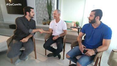 'Tabelinha': Carlos Amadeu é o convidado do novo quadro do Globo Esporte - Técnico conseguiu sete jogos com invencibilidade com o Vitória.