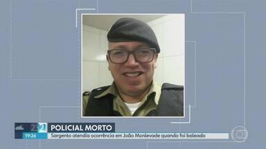 Policial é morto enquanto trabalhava em João Monlevade - Sargento atendia ocorrência de tráfico de drogas quando foi surpreendido por criminosos.