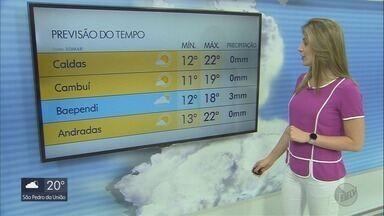 Confira a previsão do tempo para este domingo (29) - Confira a previsão do tempo para este domingo (29)