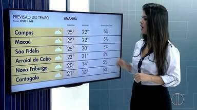 Confira a previsão do tempo para o interior do Rio - Veja as temperaturas para o domingo (29).
