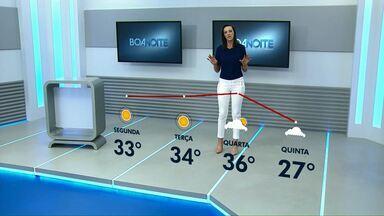 Chuva deve voltar na próxima semana ao Paraná - A previsão é de que ela chegue já na quarta-feira no fim do dia.