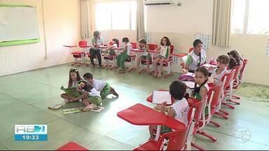 Escolas em tempo integral são destaque em Serra Talhada - Alunos dedicam mais tempo ao estudo.