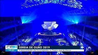 Personalidades cearenses são homenageadas com o troféu Sereia de Ouro 2019 - Saiba mais no g1.com.br/ce