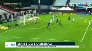 Atético e Vila vencem seus jogos pela Série B do Brasileirão - Para o Dragão, a situação é melhor na competição, já que o time se mantém na vice-liderança.