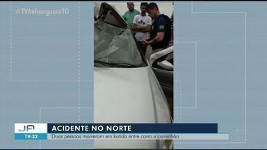 Acidente deixa dois mortos e dois feridos na BR-226, no norte do Tocantins - Acidente deixa dois mortos e dois feridos na BR-226, no norte do Tocantins