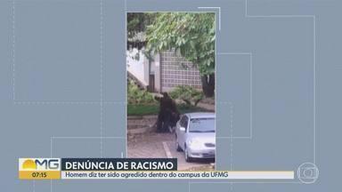Homem denuncia agressão por seguranças no Campus Pampulha da UFMG - Universidade afirmou que apura caso. Representantes dos estudantes divulgaram nota de repúdio em que apontam racismo.